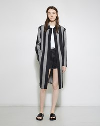 Alexander Wang Wool Striped Coat