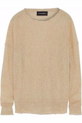 By Malene Birger Biagio Brushed Stretch Knit Sweater Sand