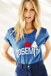 Truly Madly Deeply Yosemite Tee Blue