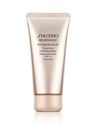Shiseido Benefiance Wrinkleresist24 Protective Hand Revitalizer Spf 15 No Color