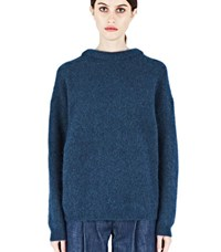 Acne Studios Dramatic Mohair Sweater Blue