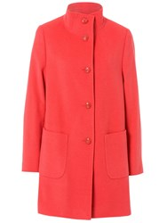 Basler Wool Coat With Cashmere Coral