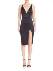 Abs By Allen Schwartz Cutout Body Con Dress Black