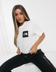 The North Face New Box T Shirt In White