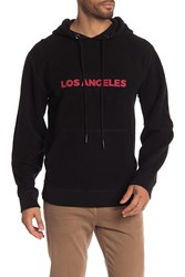 7 For All Mankind Reversible Hoodie Black