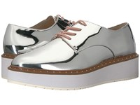 Chinese Laundry Cecilia Oxford Silver Mirror Shoes