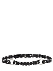Dsquared 25Mm Studded Leather Belt