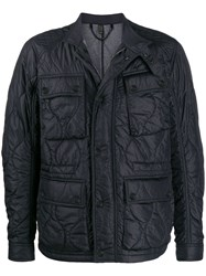 Belstaff Padded Jacket Blue
