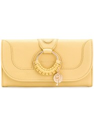 See By Chloe Hana Wallet Yellow And Orange