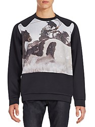 3.1 Phillip Lim Cowboy Sweatshirt Black Snow