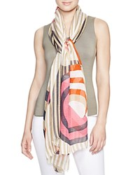 Yarnz Beachy Stripes Scarf Camel