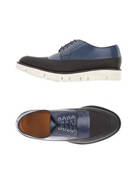 Oamc Lace Up Shoes Slate Blue