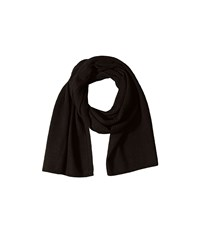 Cole Haan Tuck Stitch Muffler Black Scarves