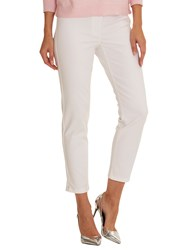 Betty Barclay Cropped Slim Fit Jeans Bright White