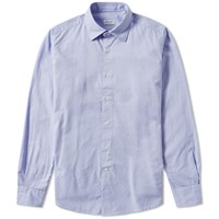 Incotex Kurt Classic Oxford Shirt Blue