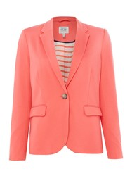 Joules Soft Jersey Blazer Coral