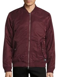 Wesc Zip Up Bomber Jacket
