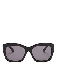 Bobbi Brown Ava Wayfarer Sunglasses 59Mm Black Gray Solid