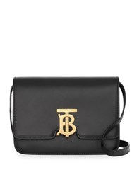 Burberry Small Tb Monogram Bag Black