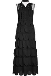 Red Valentino R.E.D. Tiered Dress With Point D 'Esprit