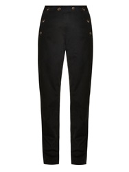 Tomas Maier Straight Leg Weathered Cotton Trousers