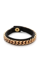 Vita Fede Monaco Single Bracelet Black Rose Gold