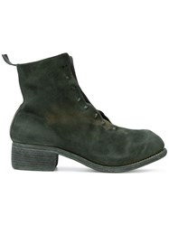 Guidi Ankle Boots Green