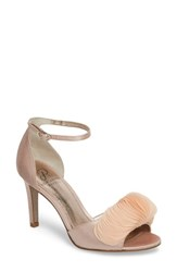 Adrianna Papell Gracie Ankle Strap Sandal Blush Fabric