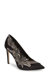 Imagine Vince Camuto By Leight Pump Black Satin