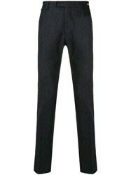 Tagliatore Slim Fit Trousers Grey