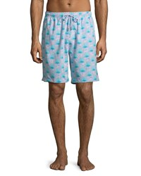 Peter Millar Agave Swim Trunks Pink