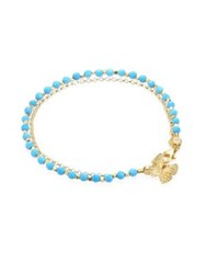 Astley Clarke Biography Turquoise And White Sapphire Butterfly Bracelet
