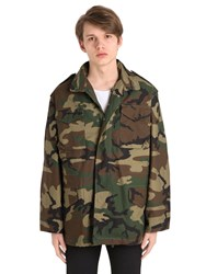 Alpha Industries Oversized Cotton Field Jacket