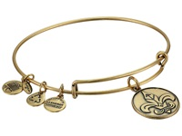 Alex And Ani Fleur De Lis Ii Rafaelian Gold Finish Bracelet