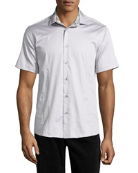 Bogosse Mini D Robin 08 Short Sleeve Shirt Grey