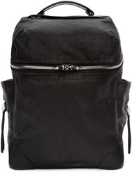 Alexander Wang Black Leather Small Wallie Backpack