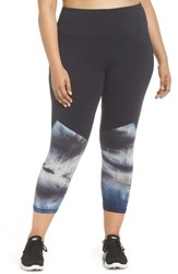Marika Plus Size Curves Zuri Crop Leggings Estate Desert Escape