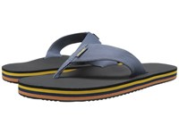 Teva Deckers Flip Vintage Indigo Men's Sandals Black