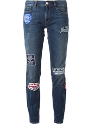 Each X Other Patch Jeans Blue