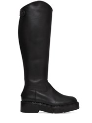 Clergerie Paris 45Mm Canada Leather Tall Boots Black