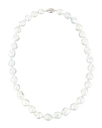 Belpearl South Sea White Pearl Necklace