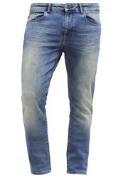 Petrol Industries Seaham Slim Fit Jeans Greenshadow Stone Blue