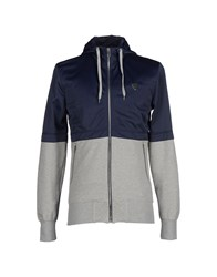 Antony Morato Topwear Sweatshirts Men Dark Blue