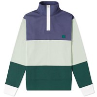Acne Studios Flint Flag Face Sweat Blue