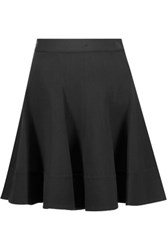 Diane Von Furstenberg Tippy Stretch Jersey Mini Skirt Black