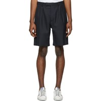 Golden Goose Navy Kenan Shorts