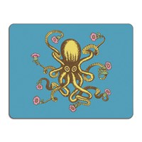 Avenida Home Puddin' Head Animal Table Mat Octopus