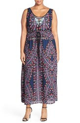 Plus Size Women's City Chic 'Biba' Drawstring Maxi Dress