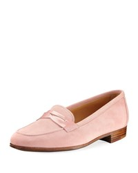 Gravati Suede Penny Loafer Pink