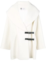 Lanvin Wool Coat White